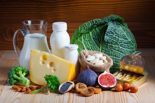 foods containing calcium